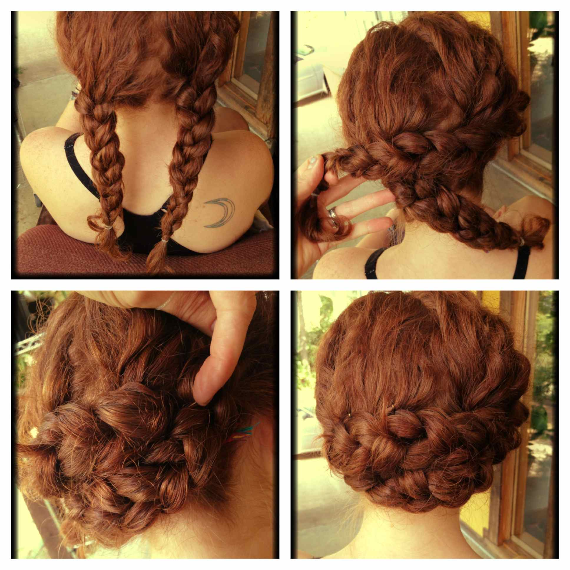 Curly hair updo curly hair braided hairstyle solutioingenieria Images