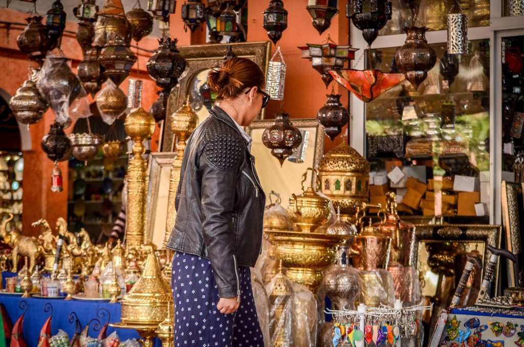 shopping in a souk