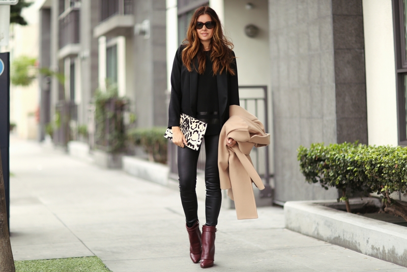leather pants to work