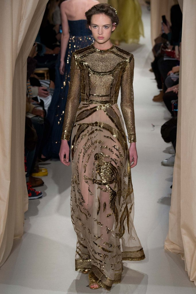 Valentino Paris Fashion Week Haute Couture