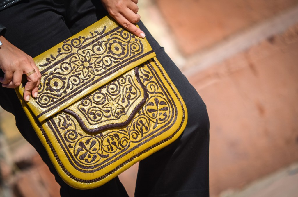 Moroccan man purse